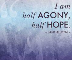 agony hope